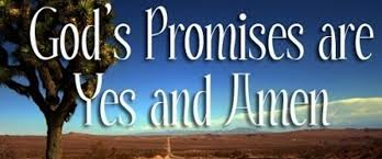 GOd's promises - yes-amen