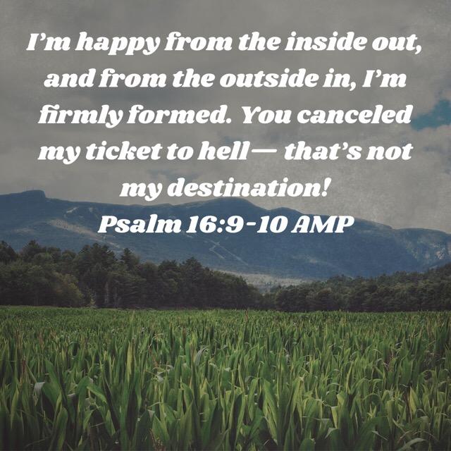 Psalm 16 9-10
